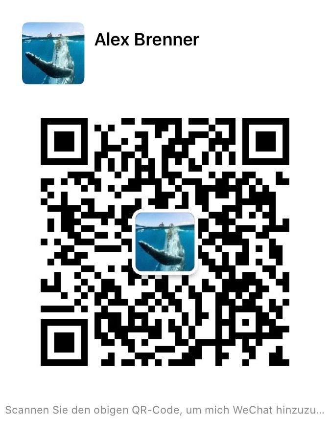 Mobydick Wechat QR code